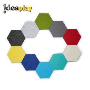 磁性六邊形毛氈 (2)
